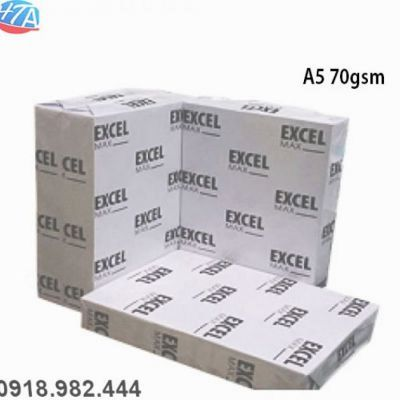 Giấy A5 Excel max 70gsm