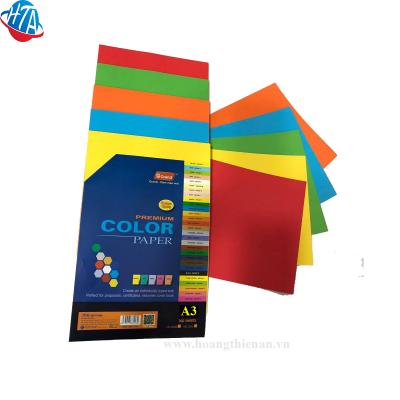 Bìa màu đặc biệt A3 Pgrand 160gsm (100 tờ/xấp)